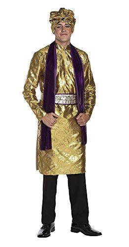 Palamon Men's Hindu Costume, Gold, Medium (Hindu Halloween Costumes)