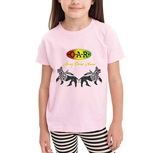 Rusuanjun O.A.R Band Children's T-Shirt Pink 4T Fun and Cute]()
