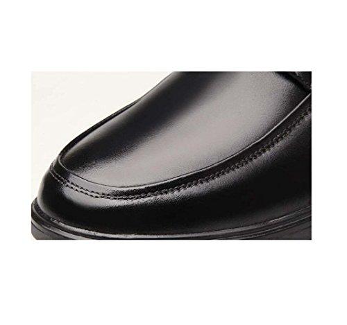 Pigro Scarpe Fondo Oxford Casual A Punta Uomo Business Rete Morbido Tonda Bean da Scarpe da Brown Scarpe Traspiranti XZZ5Rq