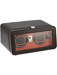 Wolf Designs 452606 Leather Synthetic Watch Winder