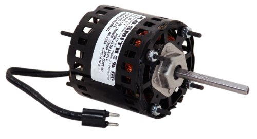 A.O. Smith 572A 3.3-Inch 1/20 HP, Open Enclosure, Sleeve Bearing, CWSE Rotation, 3-Inch by 5/16-Inch Shaft General Purpose Shaded Pole Motor