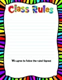 Class Rules Chart 17 X 24 by Creative Educational Products