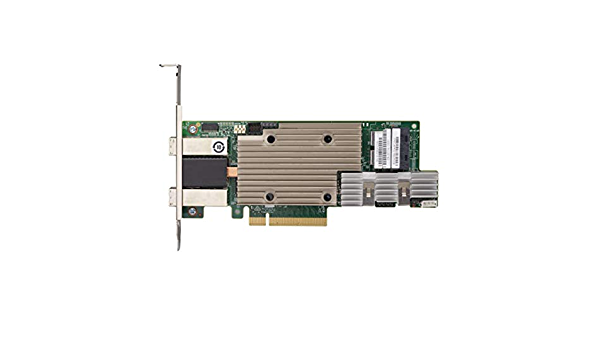 Broadcom MegaRAID SAS 9380-8i8e 1 1200 MBps JBOD SATA//SAS 12Gb//s low profile Storage controller 5 PCIe 3.0 x 8 RAID 6 50 RAID 0 10 - 8 Channel 60