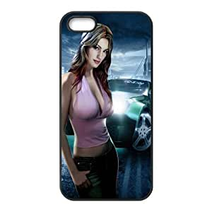 Nikki Morris Need For Speed Underground 2 Game iPhone 4 4s Cell Phone Case Black 05Go-255743