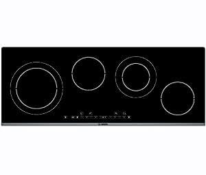 Bosch PKG975T01 hobs - Placa (Integrado, Eléctrico, Negro, Electrónico, Sensor, 6800W)