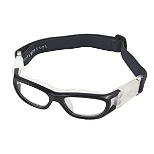 Elemart(TM Unisex Kids Sport Glasses Anti-Fog Protective Safety Goggles/Adjustable Strap for Basketball Football Hockey Rugby Baseball Soccer Volleyball and More