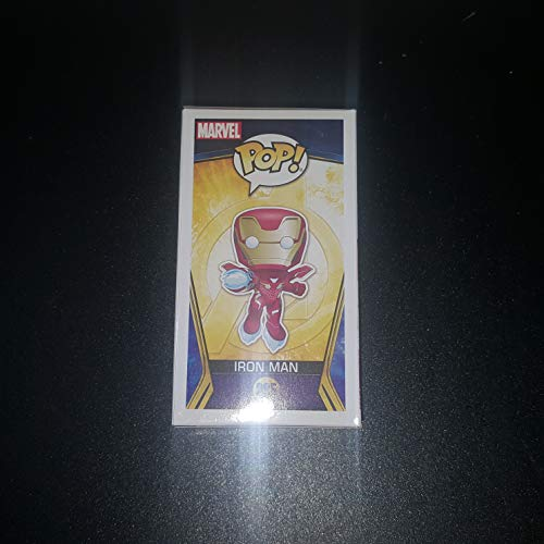 Robert Downey Jr. - Autographed Signed IRON MAN FUNKO POP 285 Vinyl Figure - Avengers Infinity War - MARVEL
