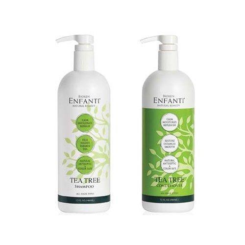 Bioken Enfanti Tea Tree Shampoo 32 oz & Conditioner 32 oz Du