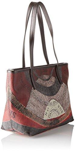 Gattinoni tibetan Gris Shoppers Mujer Bolsos Hombro De Gplb006 Y rBqanWrT