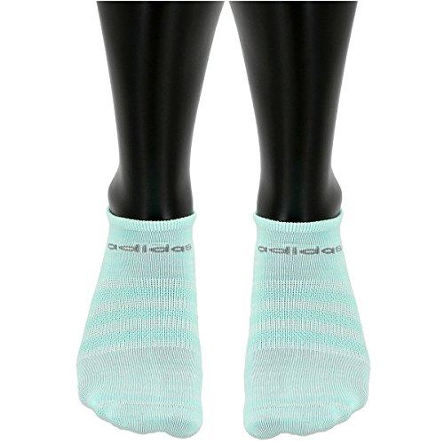 Adidas Girls Superlite No Show Socks (Pack of 6)