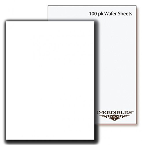 YummyInks ™ Brand: Wafer Sheets 100 sheets - A4 - 0.3mm thickness
