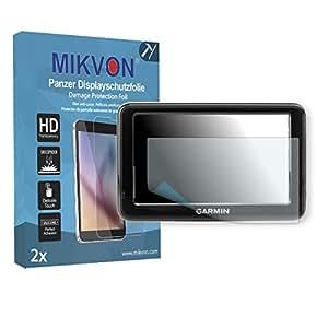 2x Mikvon Película blindada protección de pantalla Garmin nuvi 2545LMT CE Protector de Pantalla - Embalaje y accesorios