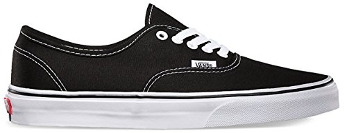 Unisex Authentic Negro Vans Zapatillas de Tela c7pWWIqFA