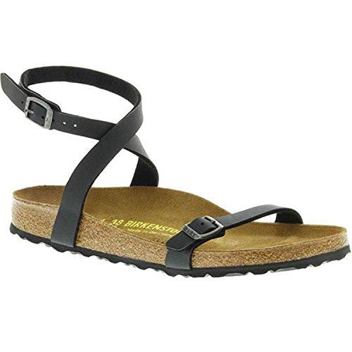Birkenstock New Daloa Black Birko-Flor 36/5-5.5 N Womens Sandals