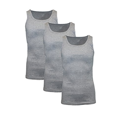 Galaxy by Harvic 3-Pack Mens Athletic Undershirts Size ()