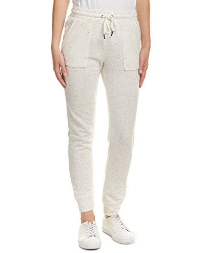 Splendid Oatmeal (Splendid Women's Patch Pocket Jogging Pants, Heather Oatmeal, Large)