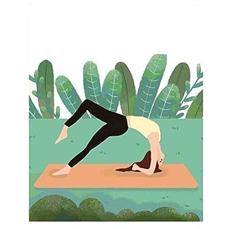WAZHCY Hacer Yoga al Aire Libre Pintar con números Pintar a ...