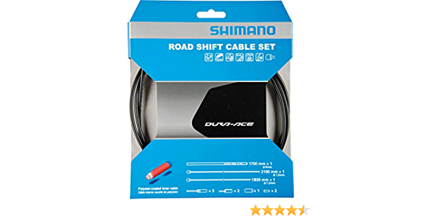 SHIMANO Dura Ace Cable and Sleeve Grey 2016