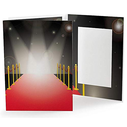 RED Carpet Photo Event Folder for 4x6 Prints Our Price is for 25 Units - 4x6