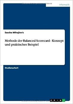 Book Methode der Balanced Scorecard - Konzept und praktisches Beispiel