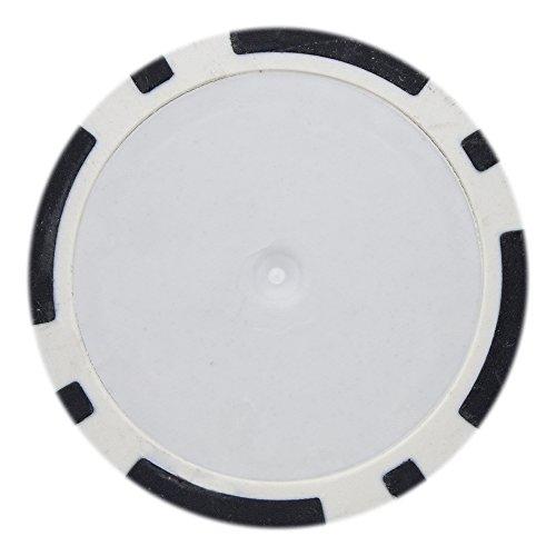 Custom Clay Poker Chips - Brybelly 8 Stripe Poker Chip Heavyweight