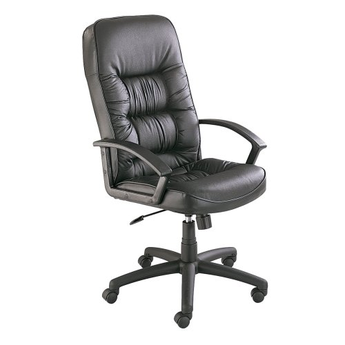 Safco Products 3470BL Serenity High Back Executive Chair, Black
