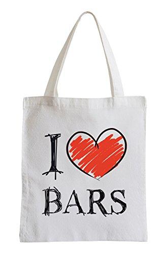 Amo Bars Divertimento sacchetto di iuta
