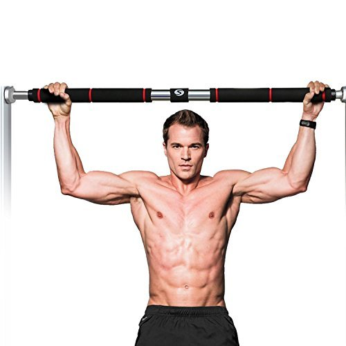 Ferty Multi-function Pull-Up Bar Doorway Chin-Up Bar Length Adjustable for Home Gym by Ferty