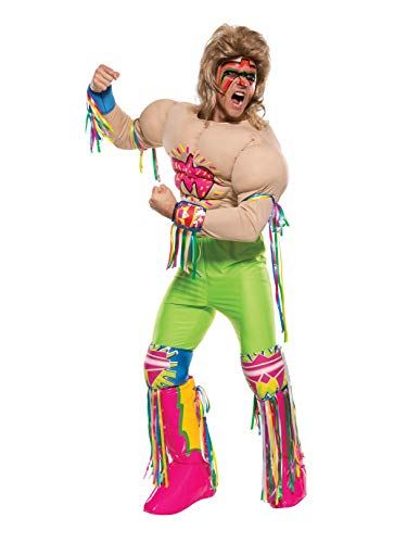 Rubie's Costume Co Men's WWE Ultimate Warrior Grand Heritage Costume, Multi, X-Large -