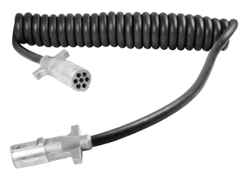 Grote 87180 15' with 72'' & 12'' Lead UltraLink Power Cords (Coiled, HD)