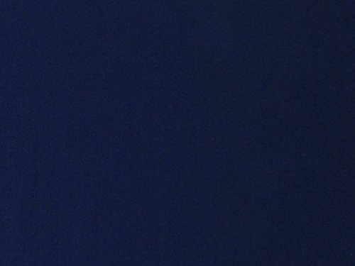 Dark Quilt Blue Fabric (100% Organic Cotton Muslin Fabric - Dark Blue - By The Yard)