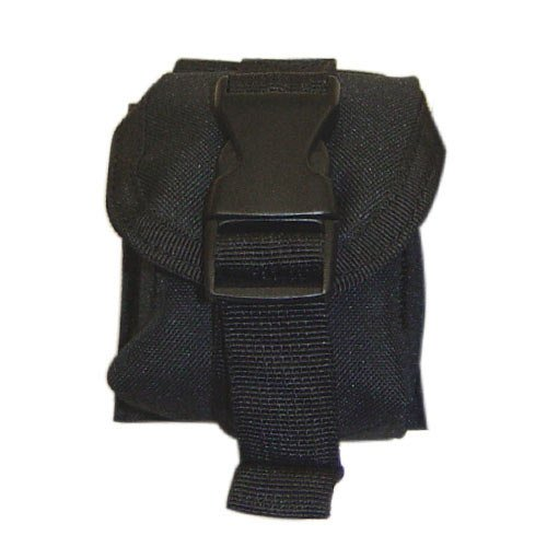 Tactical Molle PALS SINGLE Frag Grenade Pouch NIP Carrier Molle ()