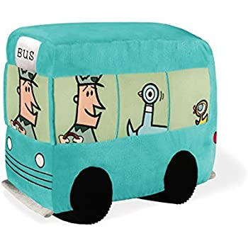 Don't Let The Pigeon Drive the Bus - Bus Soft Toy 10.5 by YOTTOY