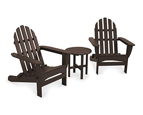 POLYWOOD Classic Adirondack Adirondack Seating Set, Mahogany ()