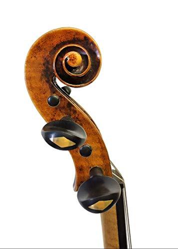 - Set of 4 Indian Ebonywood Pegs for Violin & Viola - Gold Grade