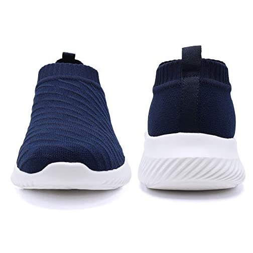 FUDYNMALC Men's Fashion Walking Sock Shoes Lightweight Breathable Mesh Tennis Sneakers Comfortable Knit Slip On Gym… |