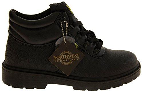 Footwear Studio ,  Herren Combat Boots Schwarz