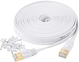 Cat7 Flat Ethernet Cable(25ft-100ft)