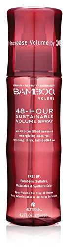 Bamboo Volume 48-Hour Sustainable Volume Spray, 4.2-Ounce by Alterna