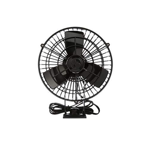 Caframo Kona 24V Weatherproof Variable Speed Fan, Black, Small ()