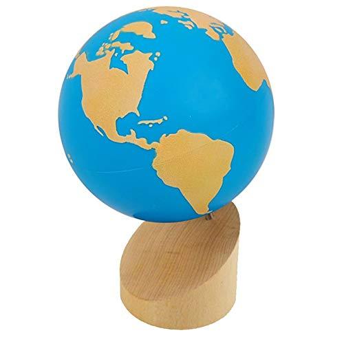Kid Advance Montessori Sandpaper Globe - Land & Water