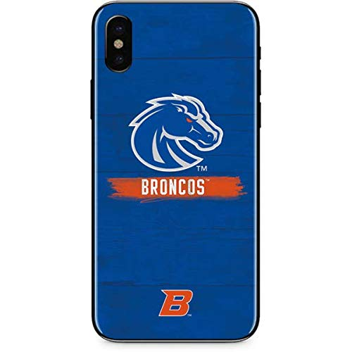 (Skinit Boise State Broncos iPhone Xs Max Skin - Officially Licensed College Phone Decal - Ultra Thin, Lightweight Vinyl Decal Protection )