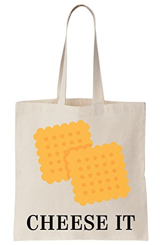 Two Delicious Cheese Crackers It Bag Canvas Tote vTwwxqAa5