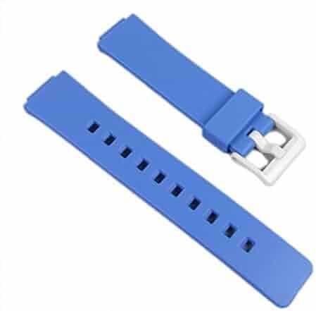 Casio watch strap watchband Resin Band Blue LDF-50-2EF LDF-50 LDF-52