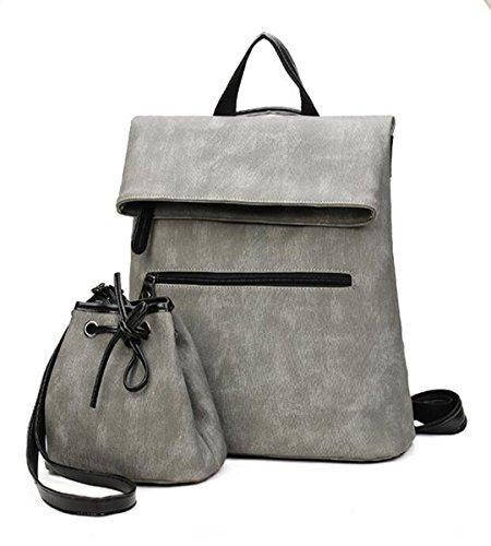 backpack 7 backpack 13 Silver PU 5 LXopr 11 handbag 8 inch Ms 9 qU1ntv