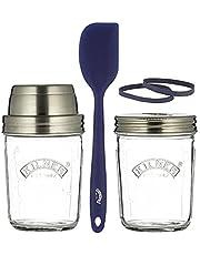 Kilner 0025.035 Zuurdesem Starterset, glas, 350 milliliter