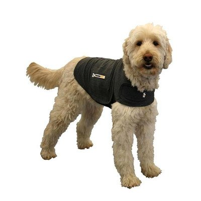 Anxiety Treatment Dog Jacket Size: Large (41 - 64 lbs), Color: Grey