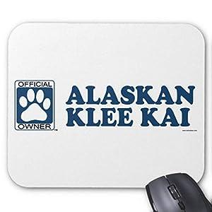 BGLKCS Alaskan Klee Kai Blue Mouse Pad 8