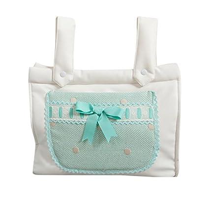 Babyline Caricias - Bolso panera para silla de paseo, color aguamarina
