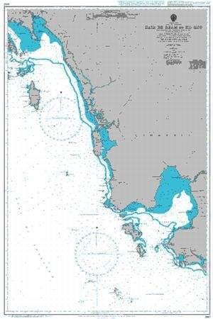 BA Chart 3967: Gulf of Thailand, Baie de Ream to Ko Kut